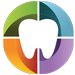 Icon of coloured tooth